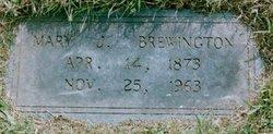 Mary Jane <i>Callison</i> Brewington