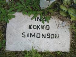 Ina Juliet <i>Kokko</i> Simonson