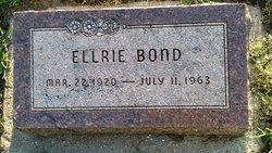 Ellrie Bond