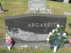 William Argabrite