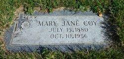 Mary Jane <i>Benson</i> Coy