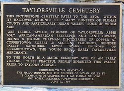 Taylorsville District Cemetery