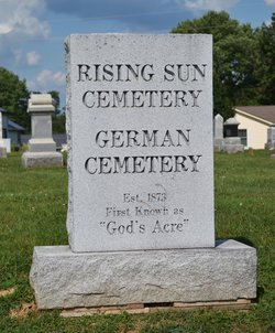 Rising Sun Cemetery