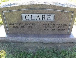 Marjorie <i>Moore</i> Clare