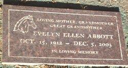 Evelyn Ellen Abbott