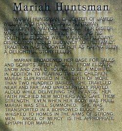 Mariah <i>Huntsman</i> Leavitt