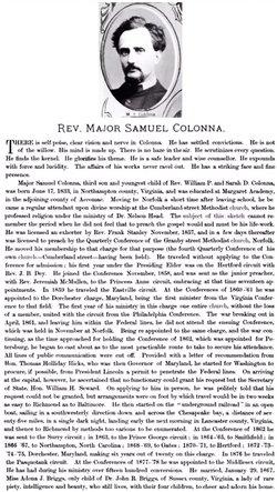 Rev Major Samuel Colonna