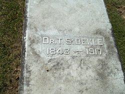 Sgt Thomas S. Dekle