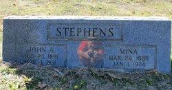 Mina Lavinia <i>Boyett</i> Stephens