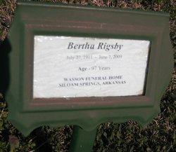 Bertha <i>Sherfield</i> Rigsby