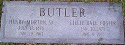 Henry Morton Butler, Sr