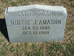 Mintie Jane <i>Atchley</i> Amason