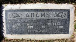 Earl Erwin Adams