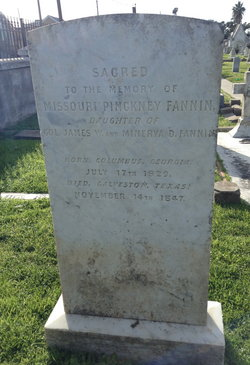 Missouri Pinckney Fannin