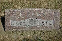 E. Irene Adams