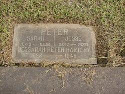 Jessarah <i>Peter</i> Hartley