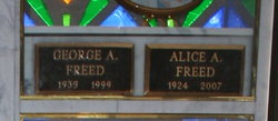 Alice L. <i>Doner</i> Freed