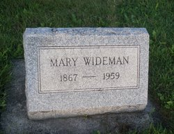 Mary <i>Barnes</i> Wideman