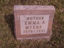 Emma Audley <i>Clevenger</i> Myers