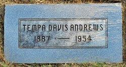 Tempa <i>Davis</i> Andrews