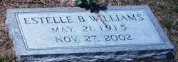 Estelle <i>Barr</i> Williams