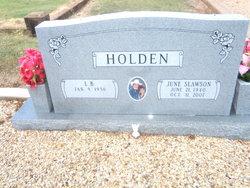 Evelyn June <i>Slawson</i> Holden