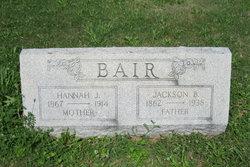 Jackson B Bair