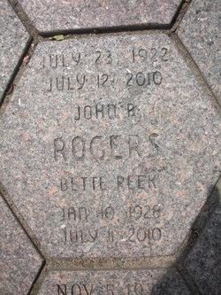 Bette Peek Rogers