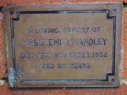 Jessie Emily <i>Ross</i> Handley