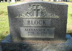 Alexander C Alec Block