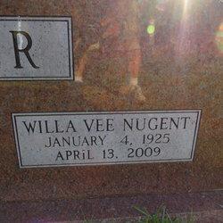 Willa Vee <i>Nugent</i> Barker