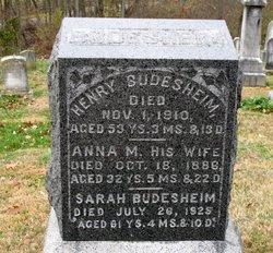 Sarah M. <i>Shue</i> Budesheim