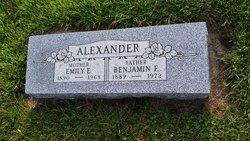 Benjamin F Alexander