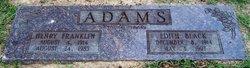 Edith O <i>Black</i> Adams