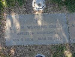 Lois H. <i>Werring</i> Abbett