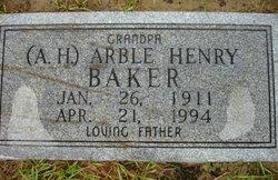 Arble Henry Baker