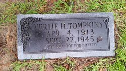Verlie H Tompkins