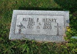 Ruth P. <i>Hill</i> Henry
