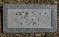 Henry John Boxum