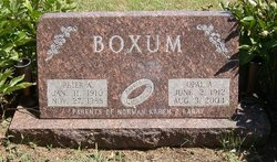 Opal Almeda <i>Miller</i> Boxum
