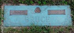 Hallie Gertrude <i>Hutchinson</i> Bruce