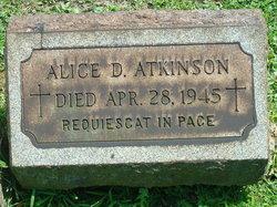 Alice <i>Dolan</i> Atkinson