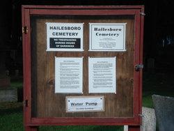 Hailesboro Cemetery