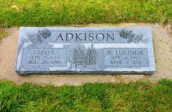 Katherine Lucinda <i>Hale</i> Adkinson