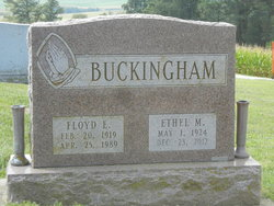 Ethel Mae <i>Blacksten</i> Buckingham