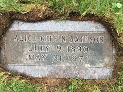 Alice Louise <i>Giffin</i> Bateson