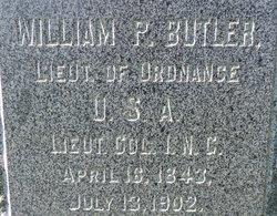 Lieut William Patterson Butler
