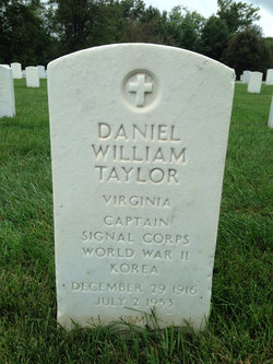 Daniel William Taylor