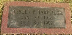 Harold F Harper