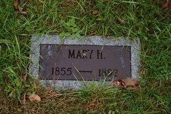 Mary H <i>Blodgett</i> Nickerson